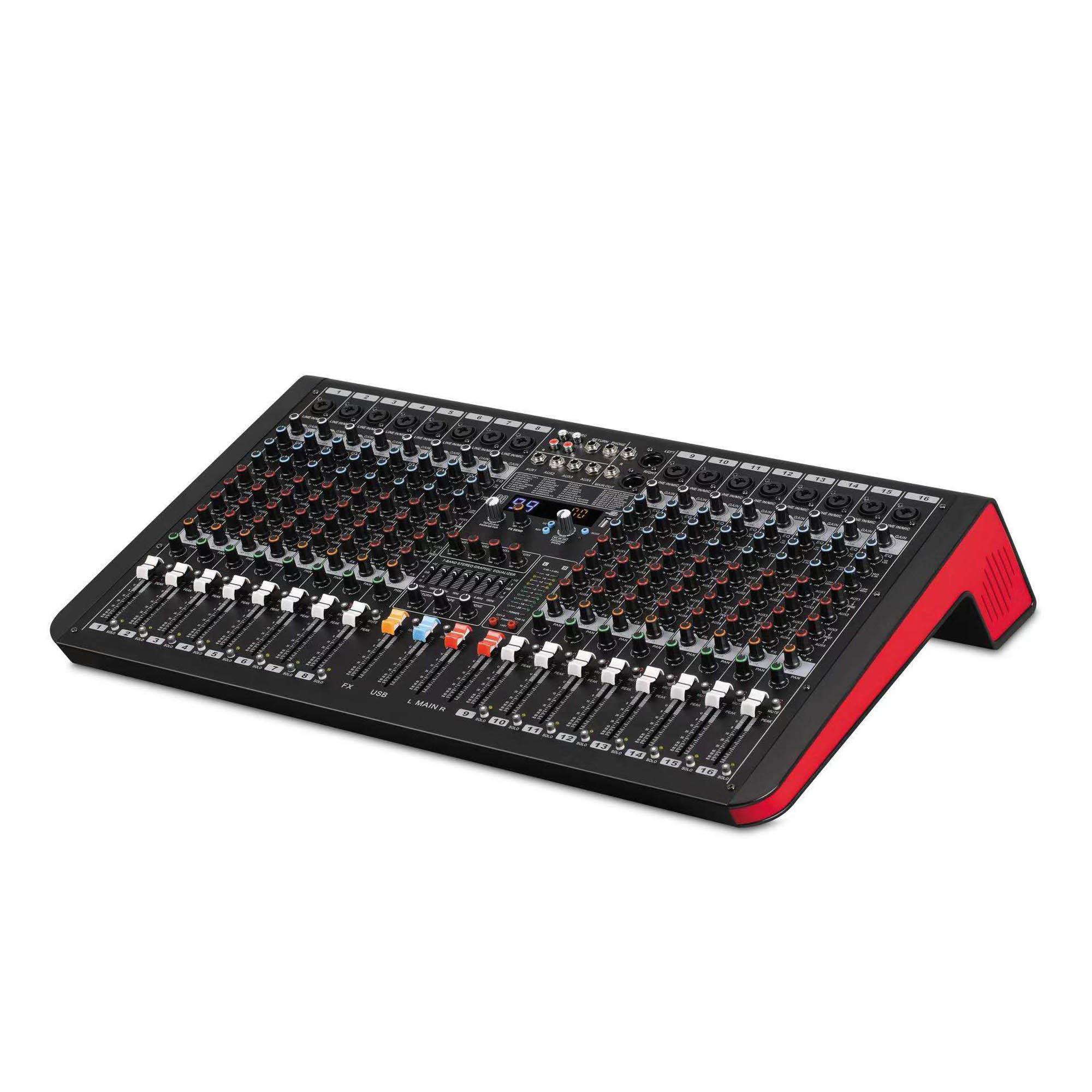 24-Channel Digital Signal Processor (DSP) Mixer