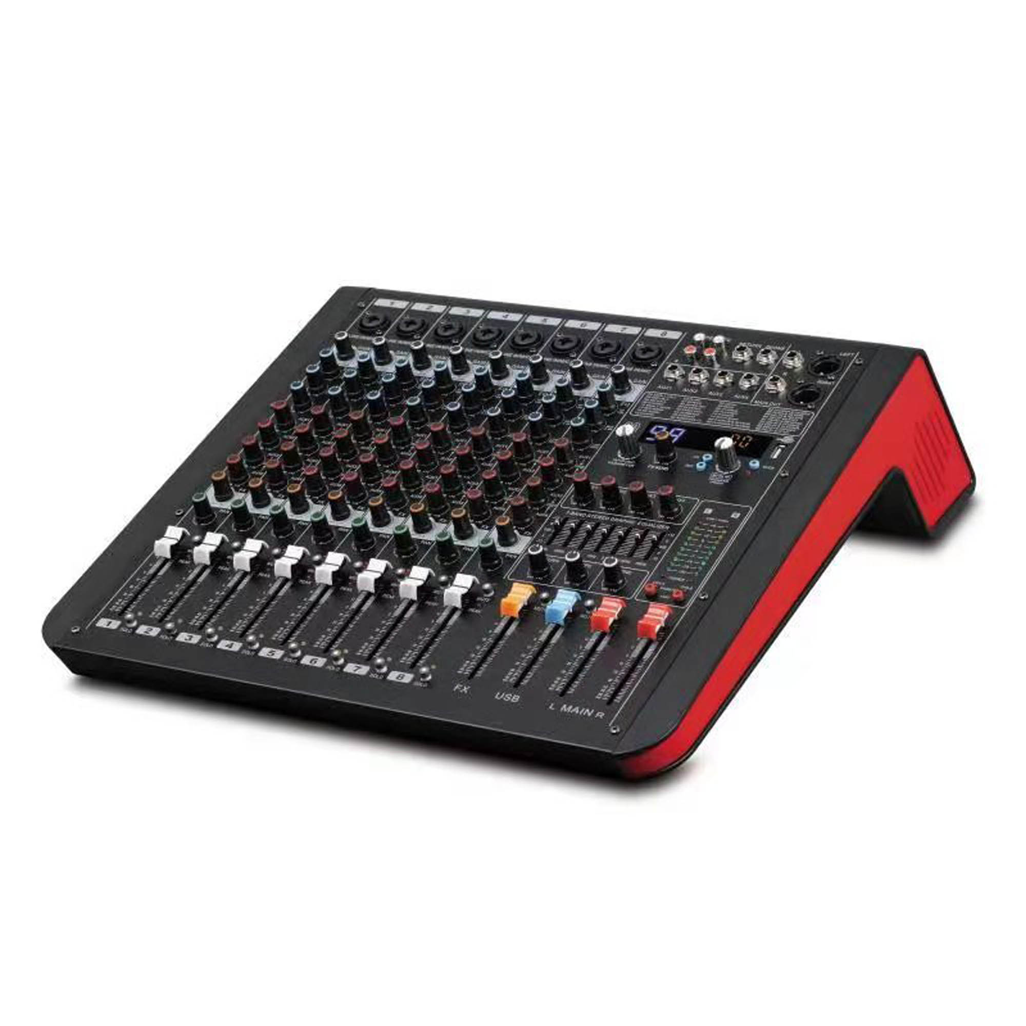 8-Channel Digital Signal Processor (DSP) Mixer