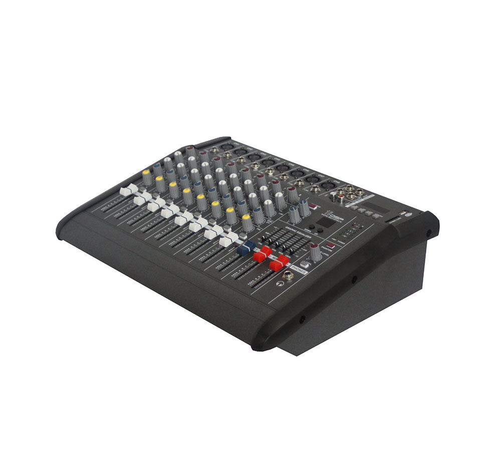 8-Channel Powered Mixer