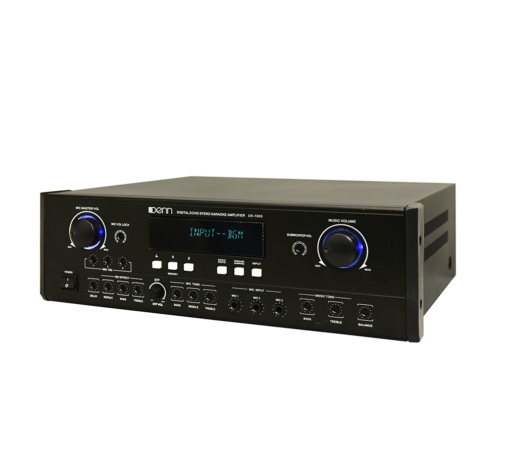 Digital Echo Stereo Karaoke Amplifier