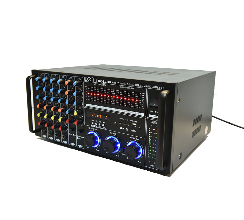 Digital Stereo USB/SD Mixing Amplifier