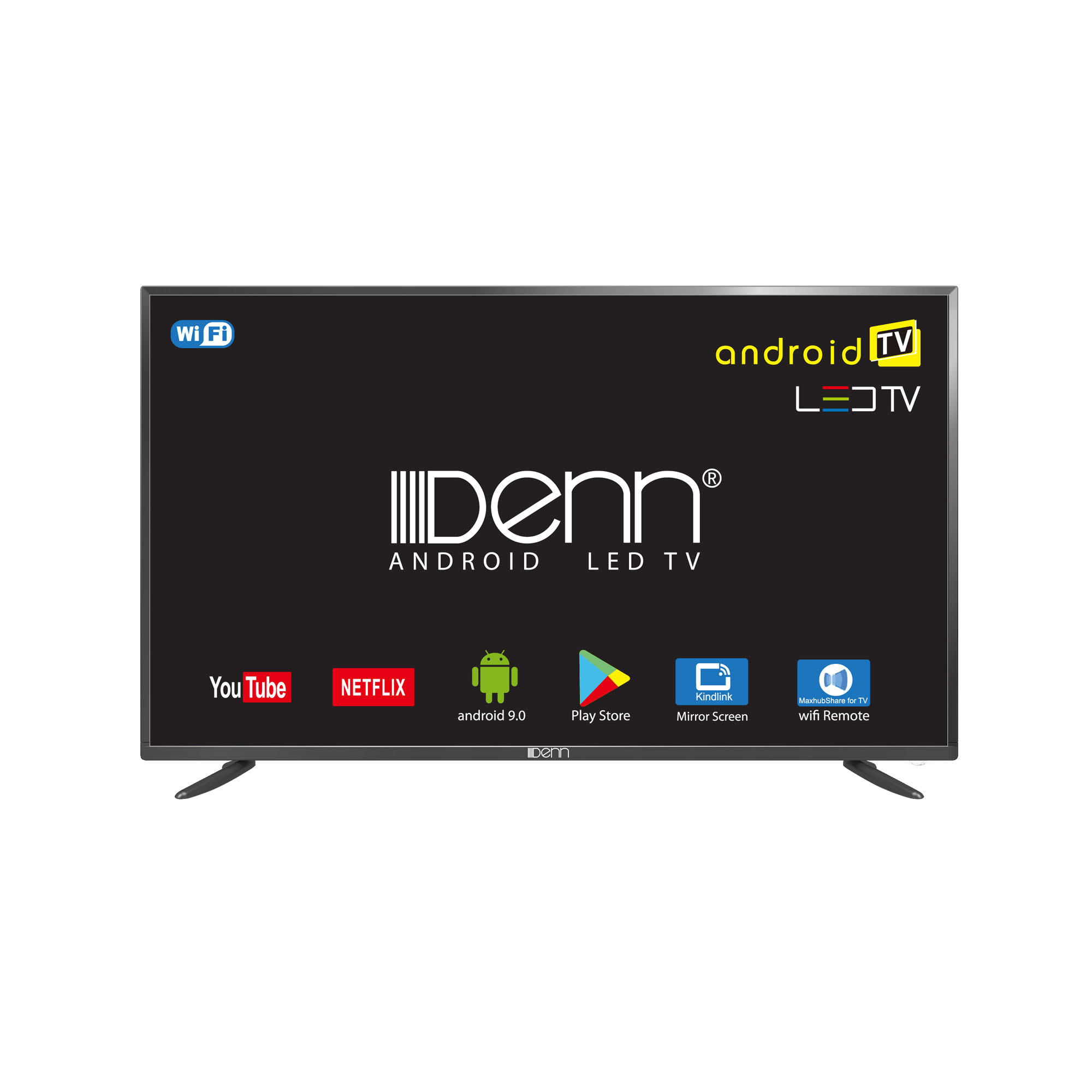 "50"" Digital Tuner (T2) Wide HD LED TV (2K with Android)"