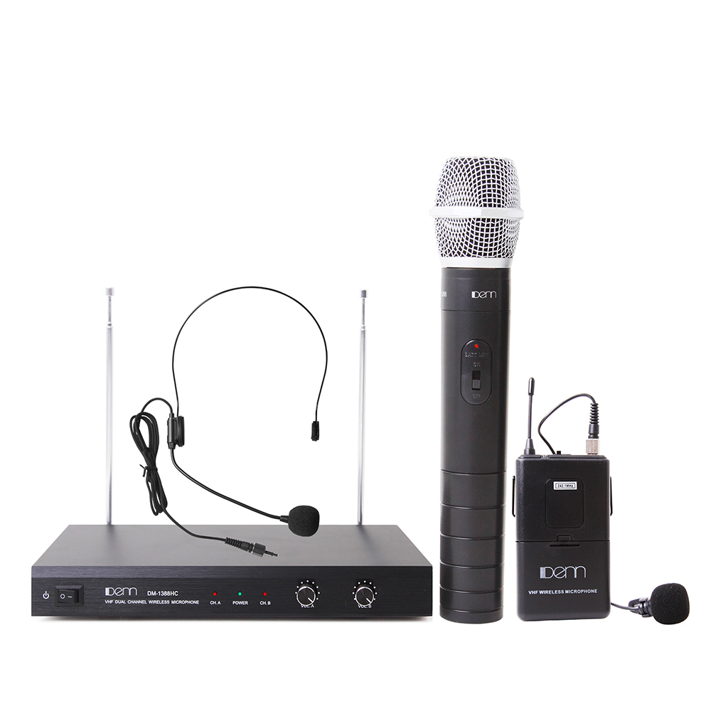 Very High Frequency (VHF) Wireless Microphone