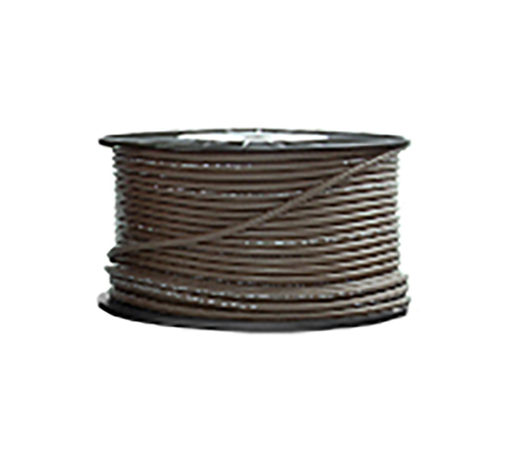 High Grade Low Noise Professional Microphone Cable (Brown Color in 100 Yard a Roll)