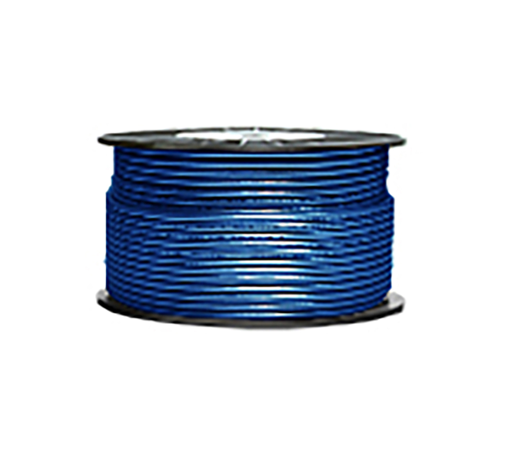 High Grade Low Noise Professional Microphone Cable (Blue-Glitter Color in 100 Yard a Roll)