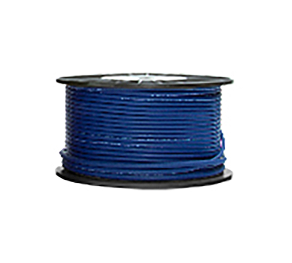 High Grade Low Noise Professional Microphone Cable (Blue Color in 100 Yard a Roll)