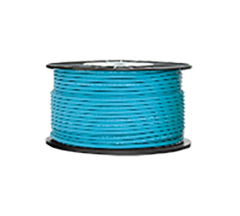 High Grade Low Noise Professional Microphone Cable (Cyan Color in 100 Yard a Roll)