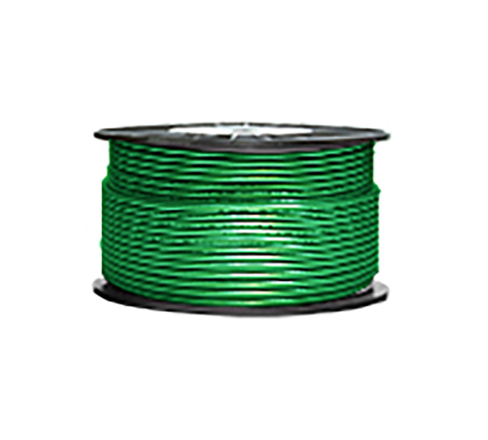 High Grade Low Noise Professional Microphone Cable (Green-Glitter Color in 100 Yard a Roll)