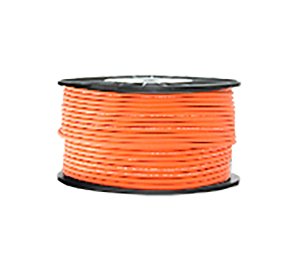 High Grade Low Noise Professional Microphone Cable (Orange Color in 100 Yard a Roll)