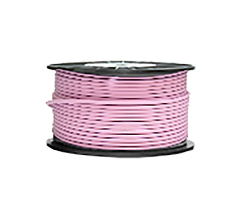 High Grade Low Noise Professional Microphone Cable (Pink Color in 100 Yard a Roll)