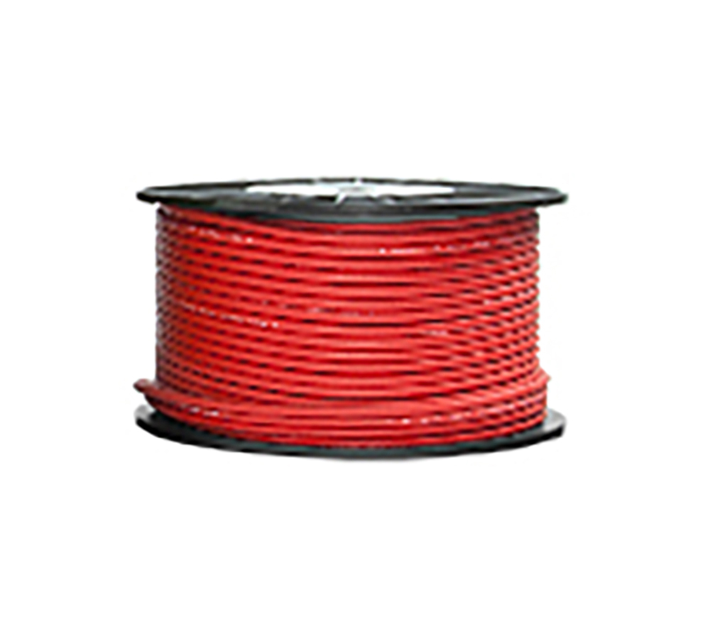High Grade Low Noise Professional Microphone Cable (Red Color in 100 Yard a Roll)