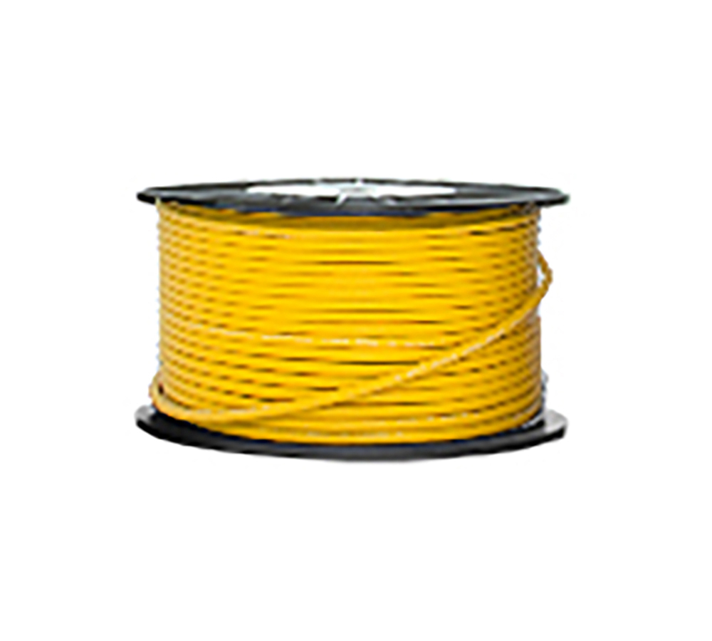 High Grade Low Noise Professional Microphone Cable (Yellow Color in 100 Yard a Roll)