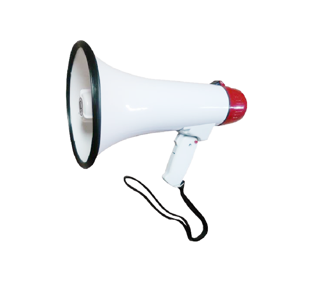 USB/SD/Siren/Voice Recording Power Megaphone