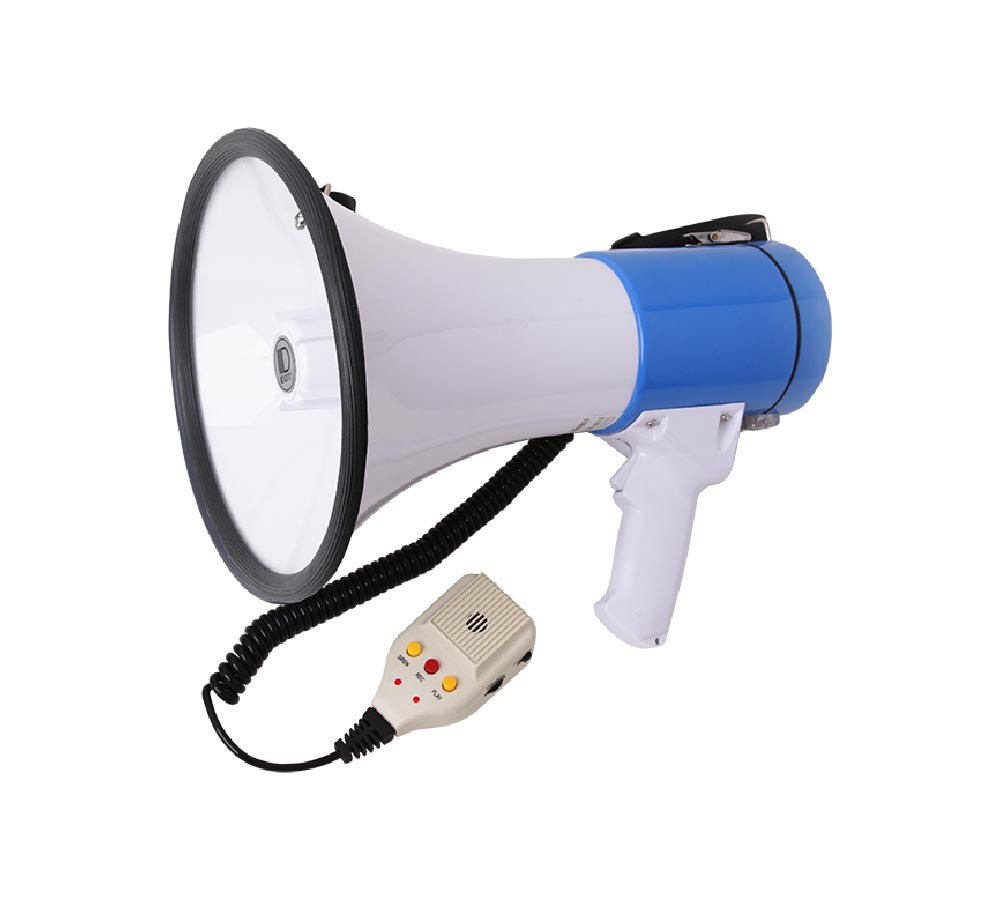 Siren/Voice Recording Power Megaphone