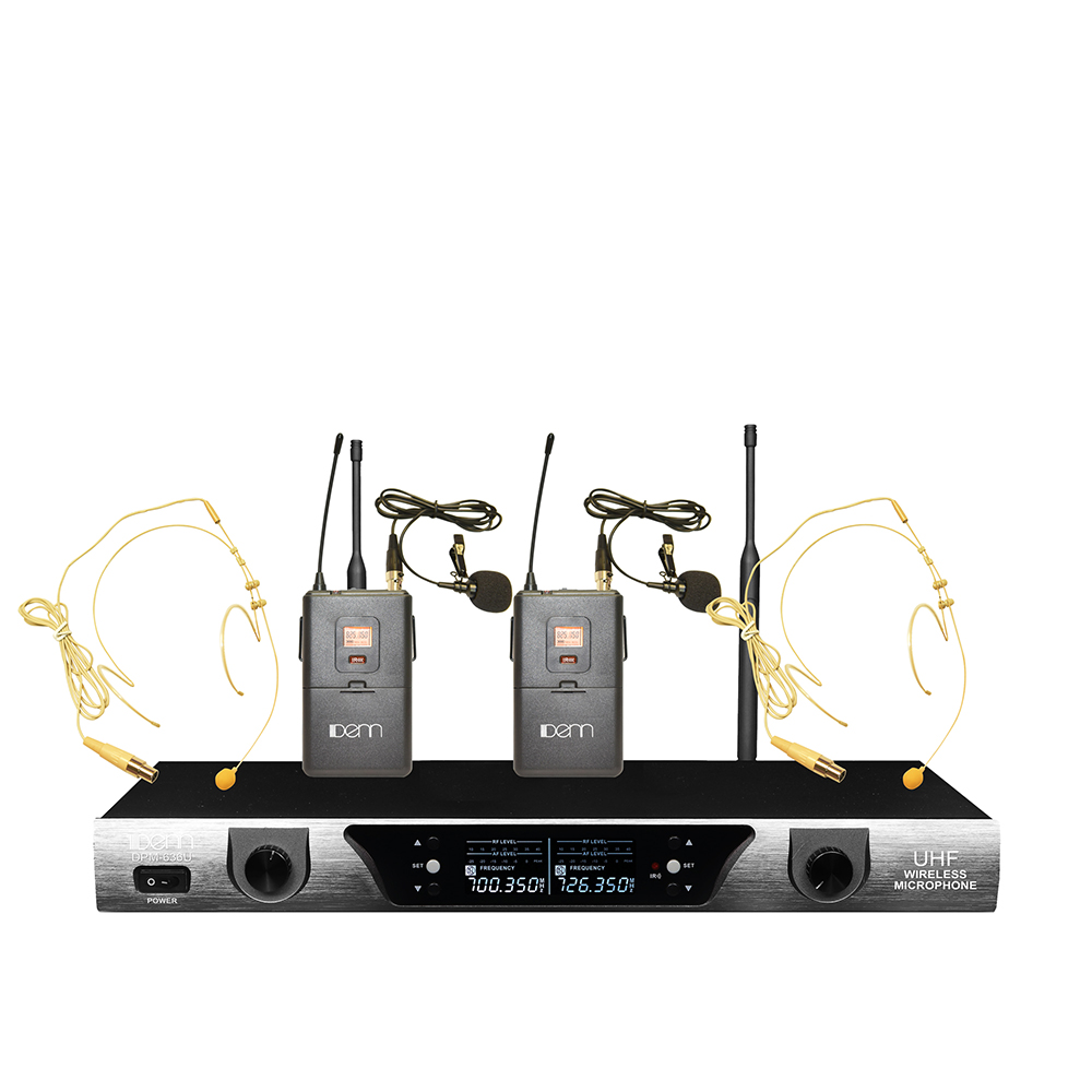 Ultra High Frequency (UHF) Wireless Microphone