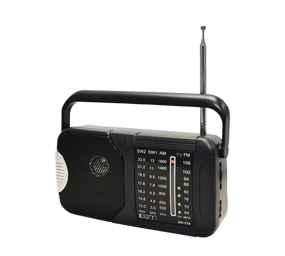 AC/DC Portable Radio (With Shortwave Radio Frequencies)