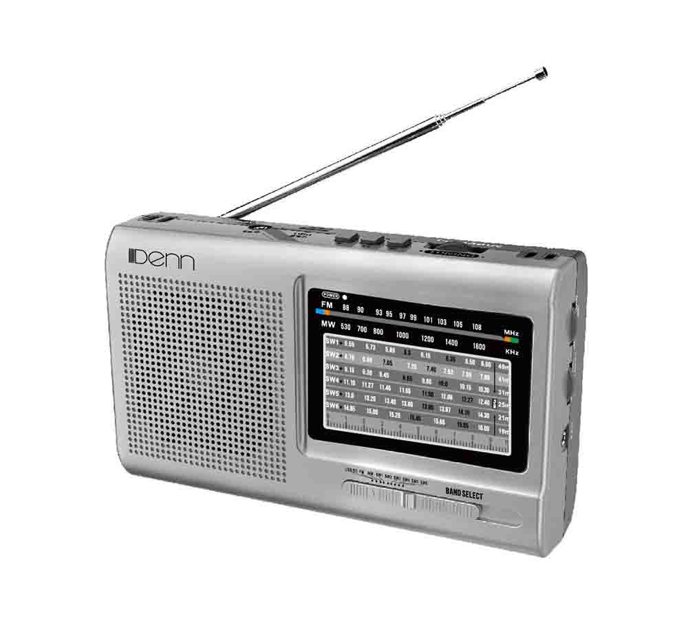 AC/DC Portable Radio (With Shortwave Radio Frequencies)