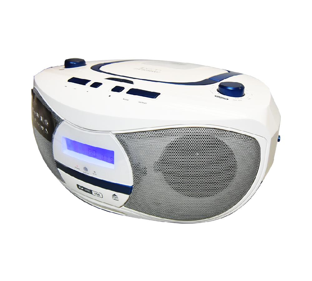AC/DC Portable Radio DVD Boombox