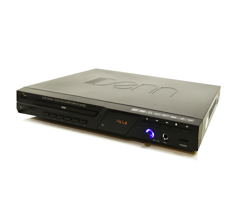 DVD Player (With Mic Input & HDMI Out)
