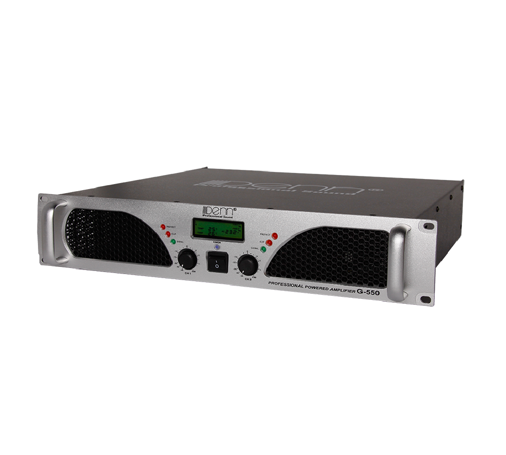 2-Channel Power Amplifier