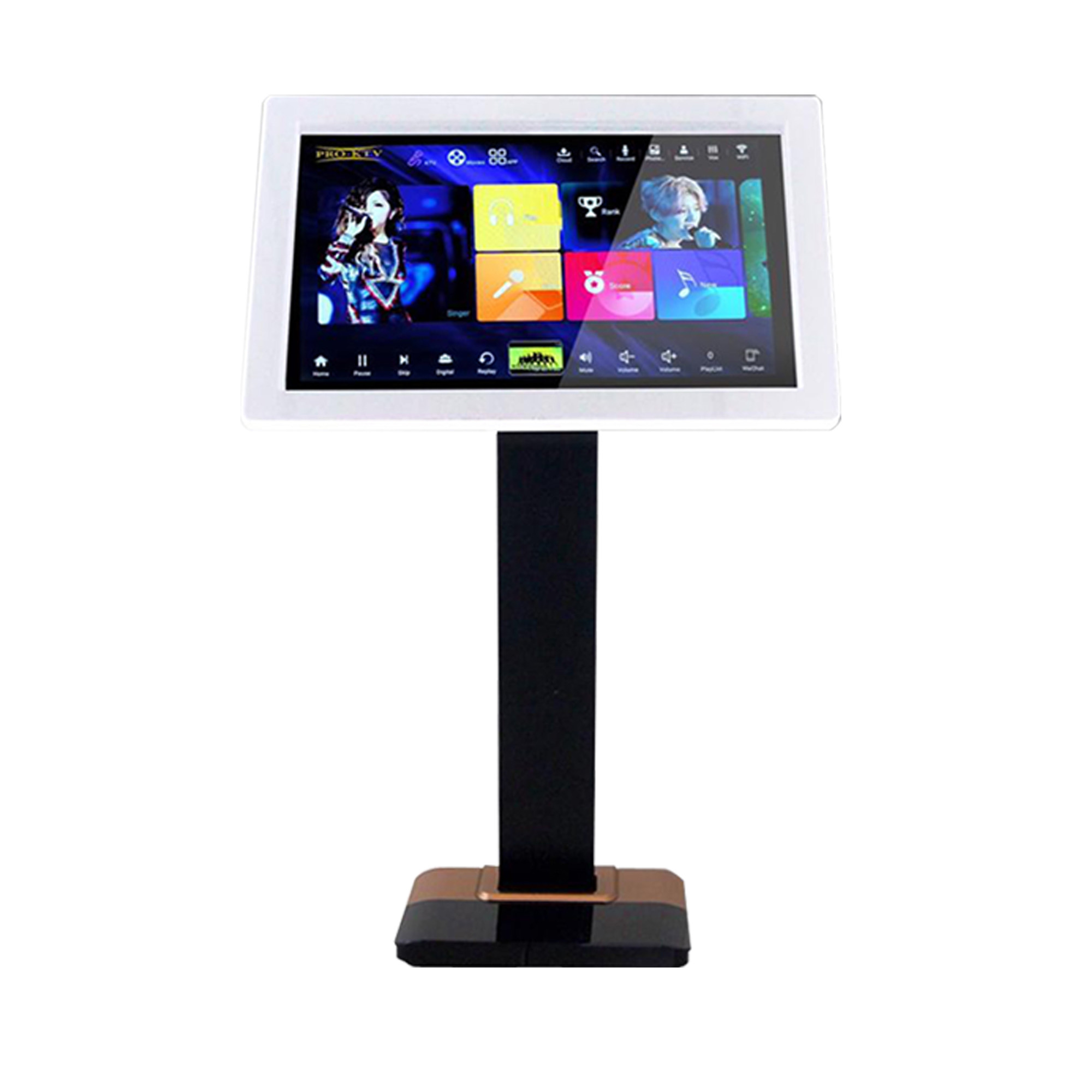"""PRO KTV 21.5"""" All in One Karaoke On Demand Player with Floor Stand (4TB)"""