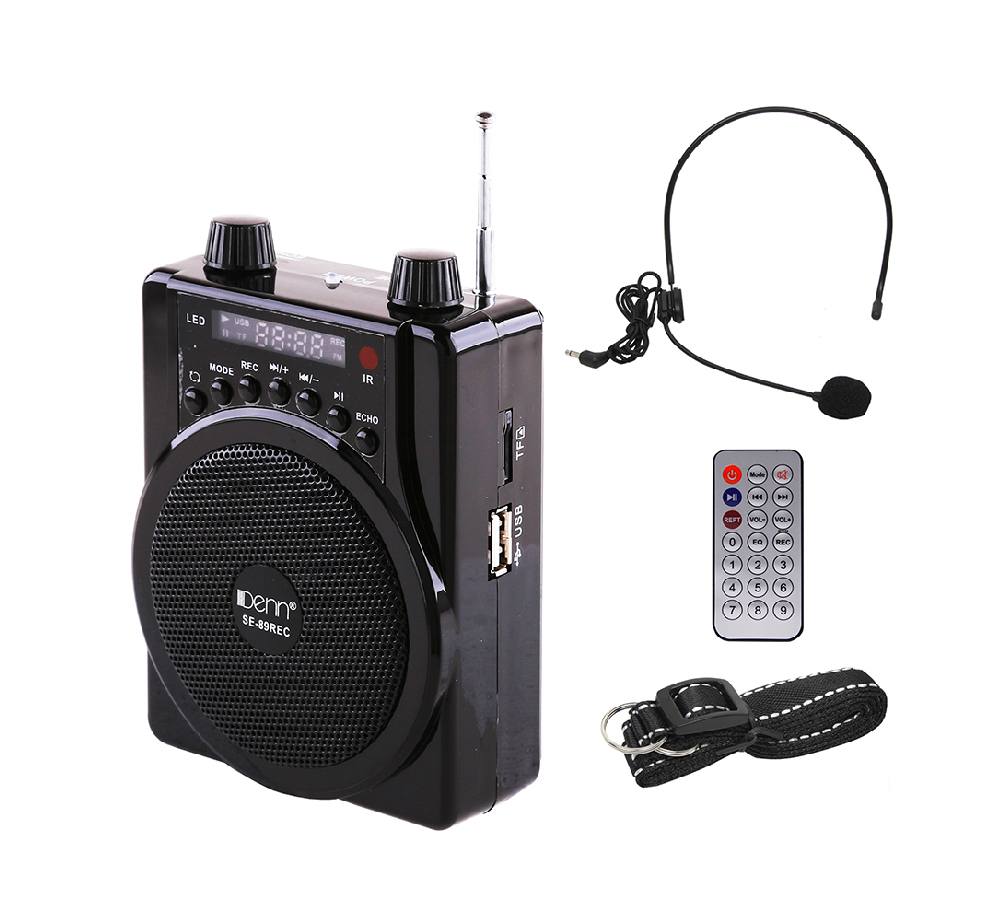 AC/DC Portable Waistband PA System