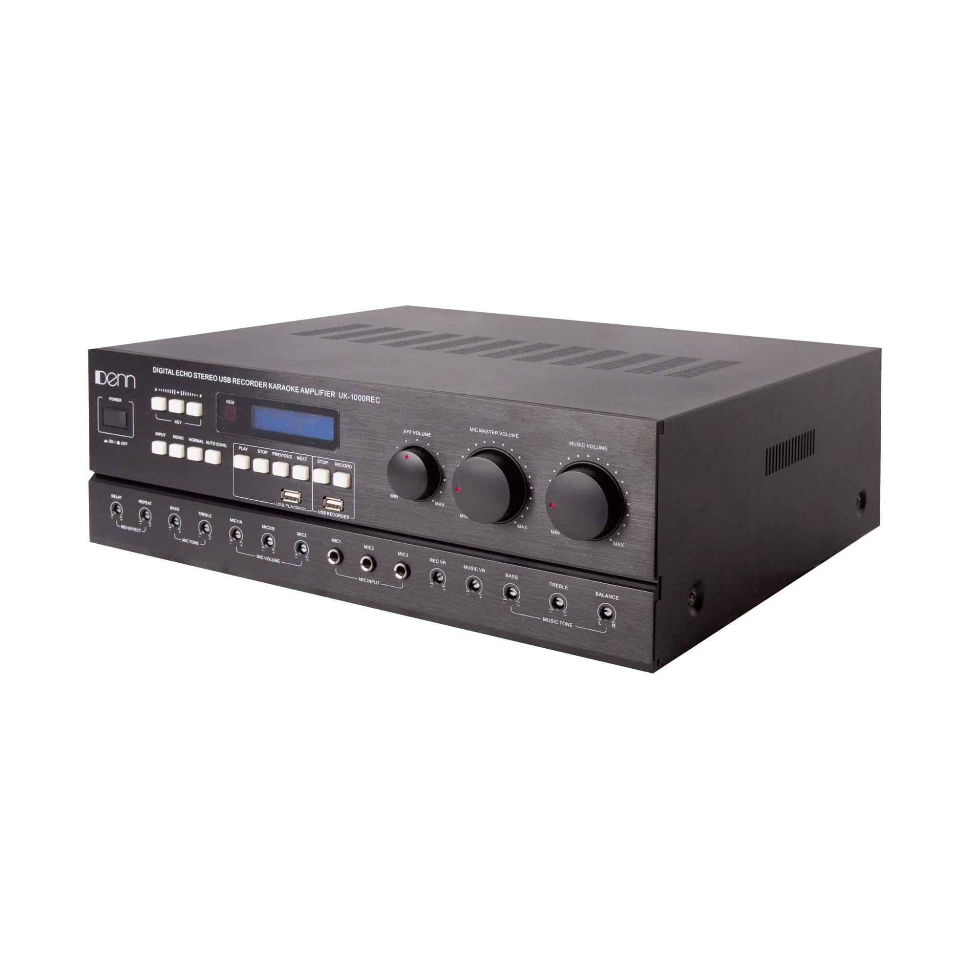 Digital Echo Stereo USB Recorder Karaoke Amplifier