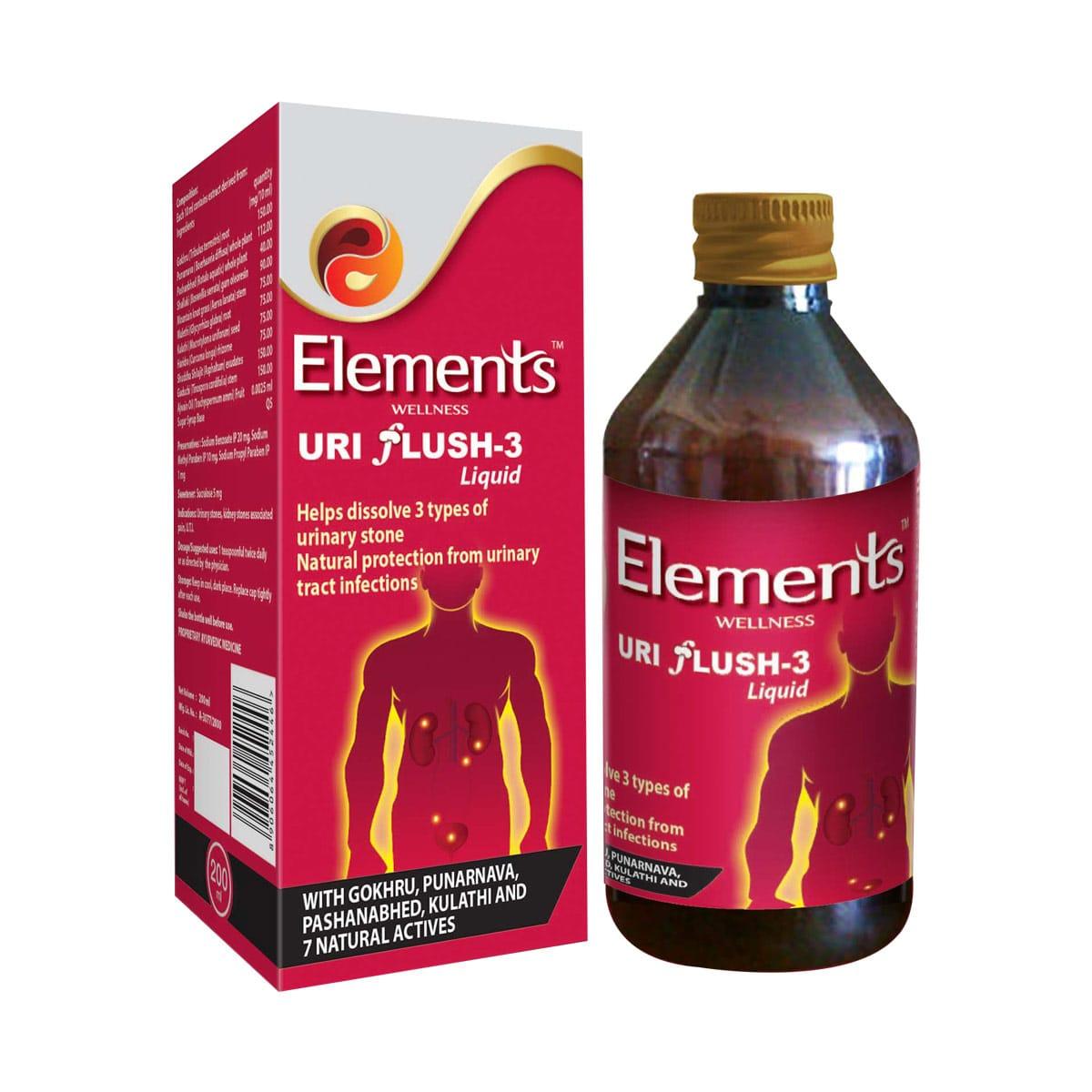 Elements Uri Flush 3 Liquid 2 Bottel