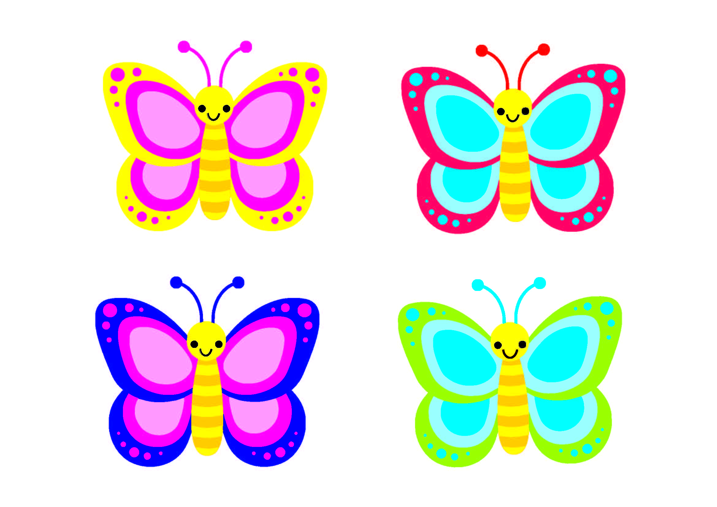 image regarding Butterfly Printable referred to as Bulletin Board Plans - Clroom Doorway Decor - Butterfly
