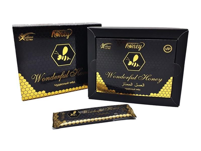 Wonderful Honey العسل الممتاز مقوي جنسي طبيعي 15 جرام 12 قطعة مراسي