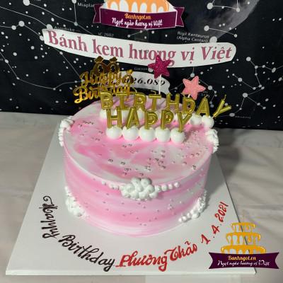 Bánh sinh nhật bé gái làm cao