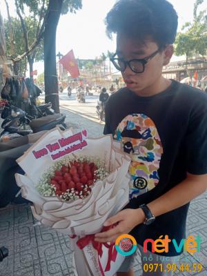 Bó hoa dâu