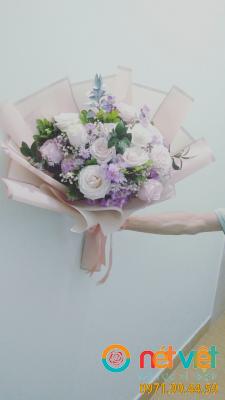 bó hoa hồng