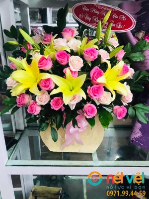 giỏ hoa