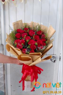 bó hoa mẫu
