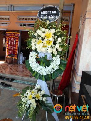 Kệ hoa viếng 2 tầng
