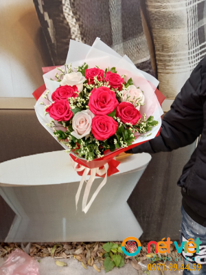 Bó hoa 10 bông