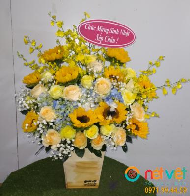 Hộp hoa