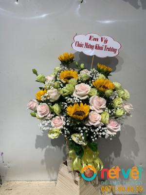 hoa hôp gỗ