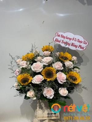 hoa hôp gô