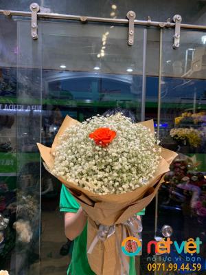 Bó hoa baby tròn
