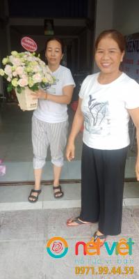 Hoa chuc mừng