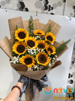 Bó hoa tặng tốt nghiệp