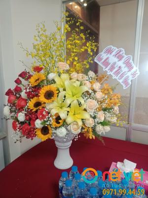Bình hoa tự thiết kế