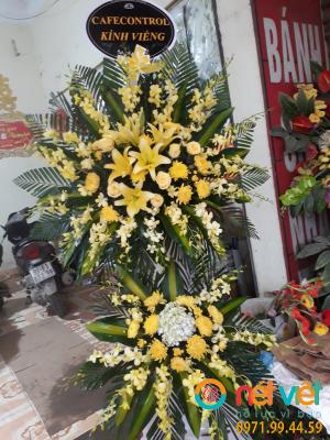 hoa viếng