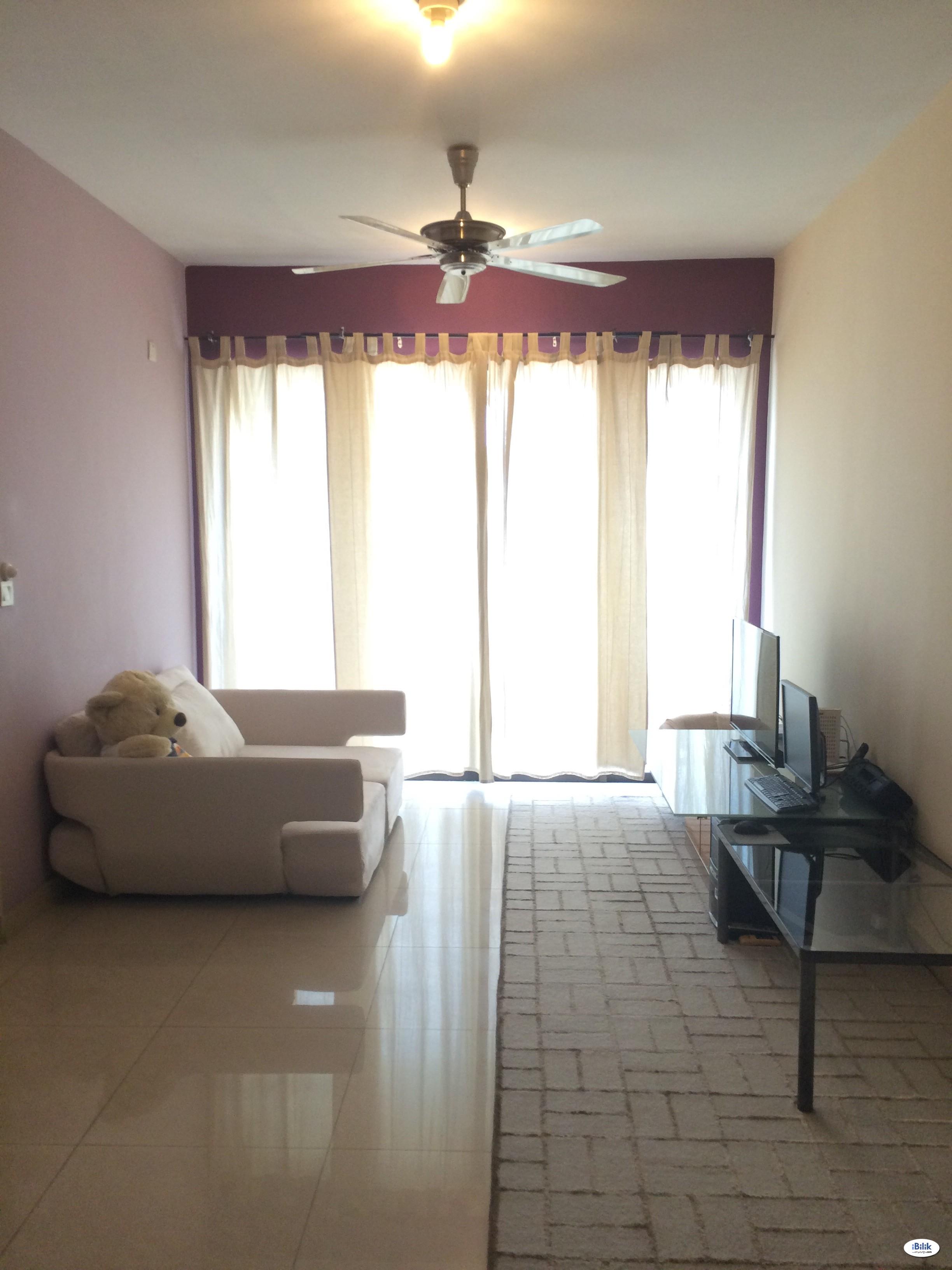 Middle Room at Rivercity, Sentul