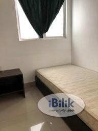 Room Rental in Selangor - Muslimah Rent include Utilities bills - single room at The Arc, Cyberjaya
