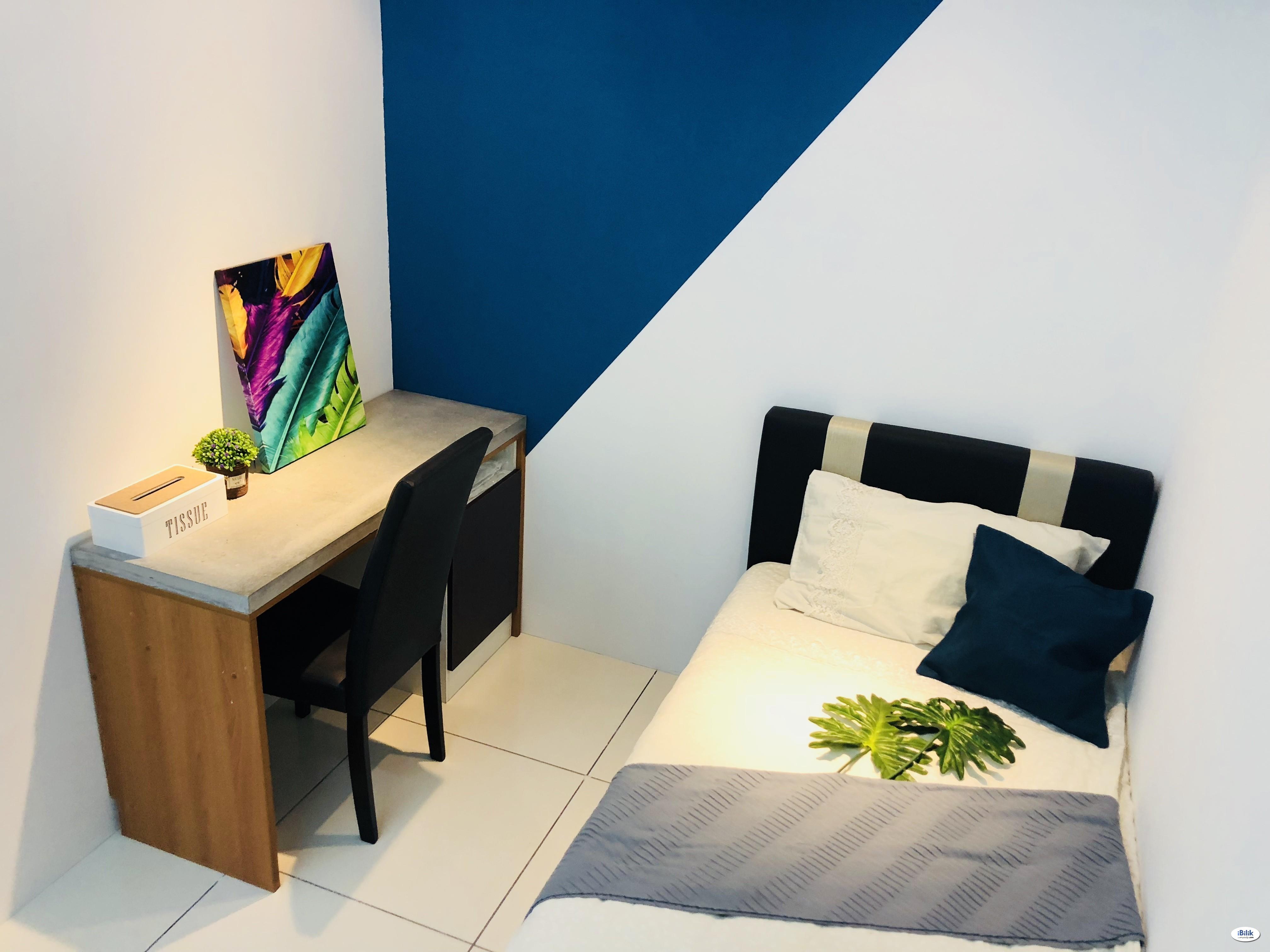 💥Single Room with Fully Furnished at Kuchai Lama, Kuala Lumpur