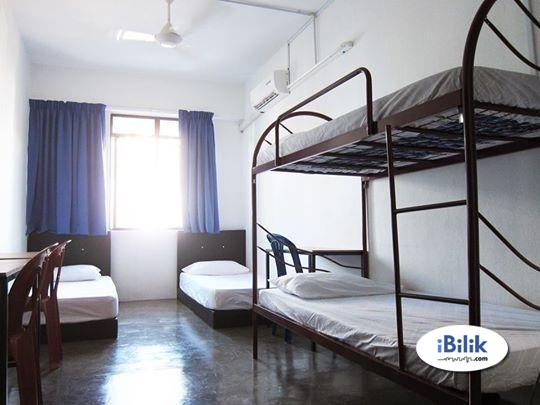 Shared Aircon Room Up To 3 Pax (Good Location, Include Electric Bill) RM400 Only