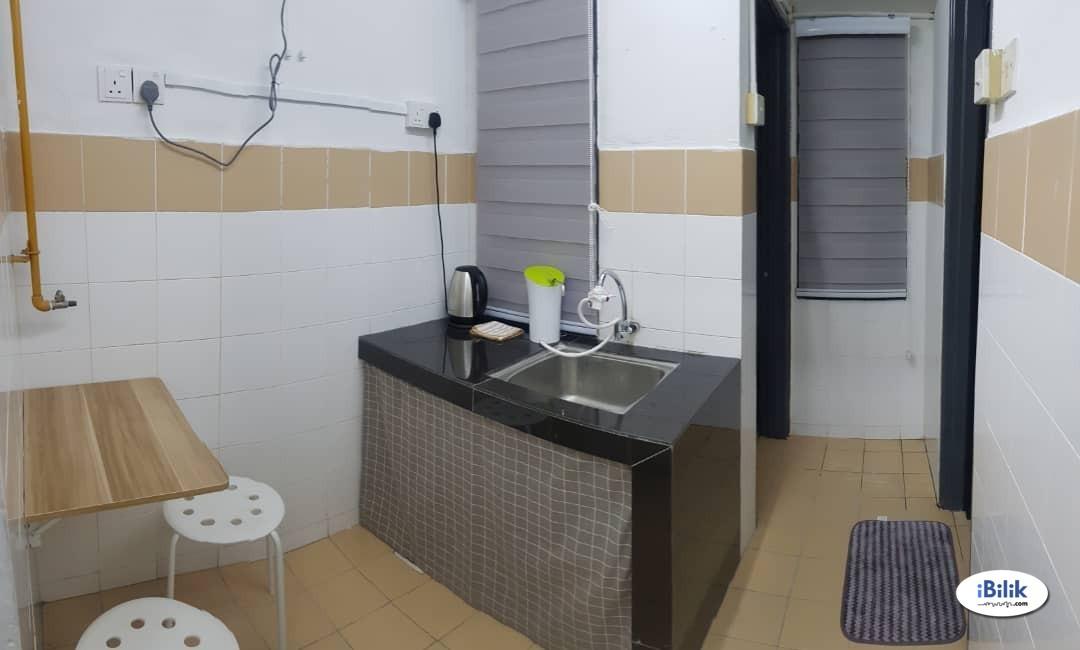 {Male Hostel} Cheapest Luxury Super Single Room at Sri Rakyat, Bukit Jalil, Kuala Lumpur